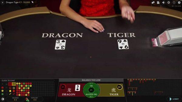 Dragon Tiger ทำเงินง่าย ได้เงินเร็ว ด้วยไพ่เสือมังกร